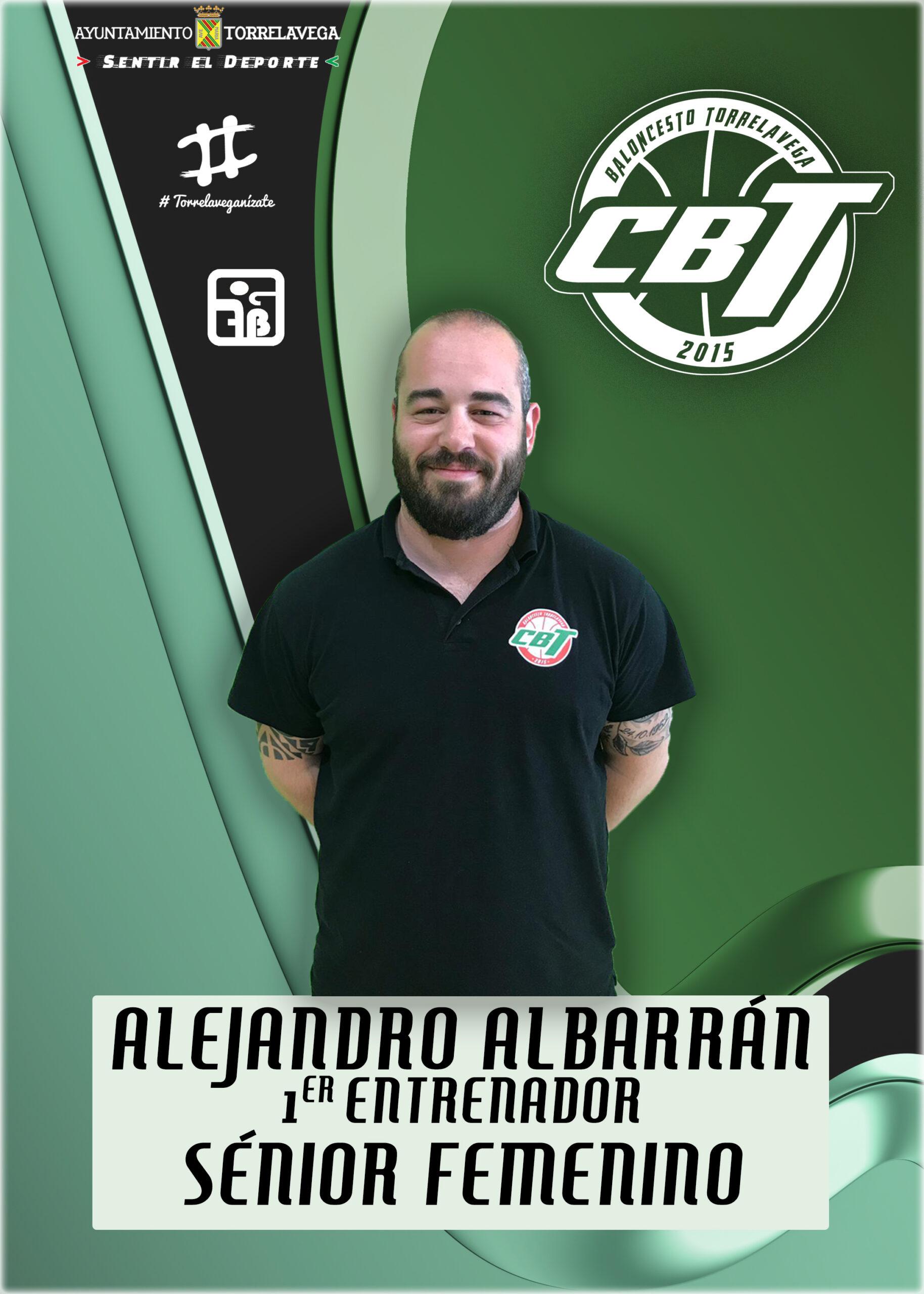 Alejandro Albarrán nuevo entrenador del femenino